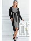 Платье с удлиненной спинкой Чарльстон